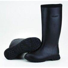 """Breezy Tall - 16"""" Women's Insulated Rain Boot - Black - BZT-000"""