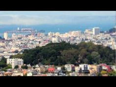 "San Francisco video: ""I captured 30,000 photos over ten months of everything I love about San Francisco. The end result required 750 hours of rendering to generate 62 tilt shift timelapse sequences."""