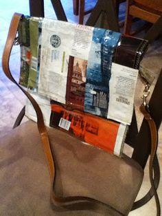 Starbucks coffee bag purse // or even better, Biggby bag purse!