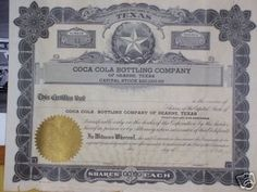 COCA-COLA BOTTLING COMPANY OF HEARNE, TEXAS