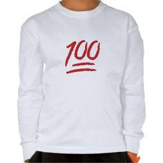 Hundred Points Symbol Emoji Shirts