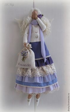 ..Tilda lavender doll