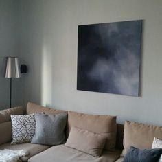 #painting #Sky #Acryl on canvas #copyright Laura Werny 2015 #wedding present