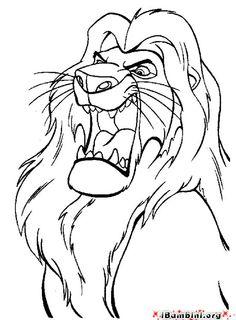 Guarda tutti i diesegni da colorare del Re Leone www.bambinievacanze.com