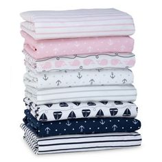 Nautica Kids® Mix & Match Nautical Fitted Crib Sheet Collection - buybuyBaby.com