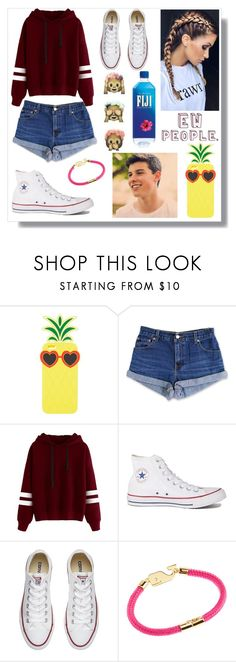 """""""Random set"""" by switchkid ❤ liked on Polyvore featuring Charlotte Russe, Levi's, Converse and Vineyard Vines"""