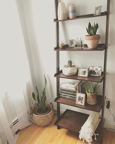 Tired of the same old drab, big box store shelves? DIY those wall shelves! Diy Blanket Ladder, Diy Wall Shelves, Baby Boy Rooms, Baby Room, Cool Apartments, Home Hacks, Decoration, Ladder Decor, Sweet Home