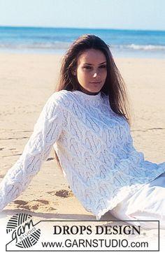 Белый узорчатый пуловер спицами. Обсуждение на LiveInternet - Российский Сервис Онлайн-Дневников