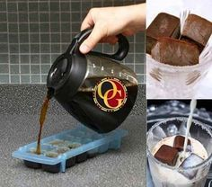 Great idea not only for summer (cold coffee) but for winter as well (with hot milk)  www.ogh.gr