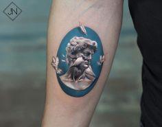 David tattoo by Jefree