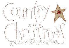 Country Christmas Sampler - 2 Sizes! | Christmas | Machine Embroidery Designs | SWAKembroidery.com Needle in a Haystack