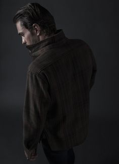 Squirrel Hunt Jacket in Moss Angeles Plaid