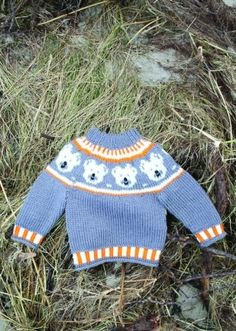 Frys frys freeze don't freeze selvom der er festlige flotte venlige isbjørne på denne sweater kommer hverken baby eller barnet Knitting For Kids, Baby Knitting Patterns, Knitting Designs, Knitting Projects, May Flowers, Baby Items, Diy And Crafts, Sewing, Children