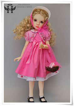 "[Luna, Missy] Easter Pink Set Ensemble  | 18"" Kaye Wiggs, Liz Frost by HM #HeavenlyMarie"