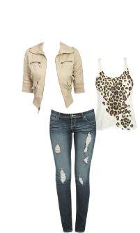 WetSeal.com Runway Outfit:  Cheetah Schwag by Truuue Schwag.