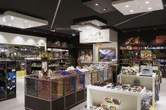Client: Lindt  & Sprüngli Location: Verkehrshaus Luzern Design: Lindt & Sprüngli Year: 2014 #interior #shopfitting #store #shop #sweets #lindt & sprüngli #design #retail