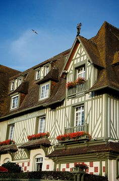 Maison à colombages - Deauville, Calvados, France.