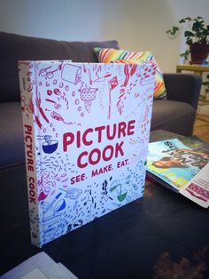 Picture Cook by Katie Shelly, via Behance