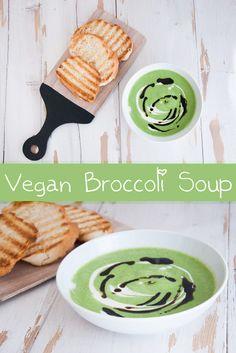 Vegan Broccoli Soup   ElephantasticVegan.com