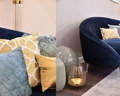 Living Room Inspiration, Bean Bag Chair, Art Deco, Throw Pillows, Bed, Furniture, Home Decor, Toss Pillows, Decoration Home