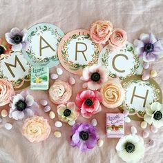 Hello March! Have a beautiful start to the new month. xo