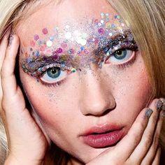 glitter makeup • ideias para festas a fantasia • ideias para oc arnaval • purpurina ideias carnaval maquiagem purpurina