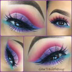 """Makeup by the fantastic ✨ Lashes """"Iconic"""" Eyes: Cosmetics """"Bamboo"""" and """"soft brown"""" (transition colors) Brushes (magenta) cut crease """"pink diamond"""" (Light pink) inner lid Stel Beautiful Eye Makeup, Pretty Makeup, Love Makeup, Makeup Inspo, Makeup Inspiration, Makeup Ideas, Simple Makeup, Natural Makeup, 80s Makeup"""
