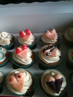 Naughty breast are best cupcakes for my husbands birthday