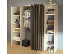 New cheap clothes storage diy closet makeovers 53 ideas Diy Dressing, Dressing Pas Cher, Armoire Dressing, Closet Storage, Bedroom Storage, Diy Storage, Creative Storage, Decorative Storage, Storage Ideas