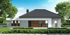 Projekt domu HomeKoncept-33 214,09 m2 - koszt budowy - EXTRADOM Garage Doors, Outdoor Decor, Plans, Home Decor, Style, Log Projects, Prefab Homes, Swag, Decoration Home