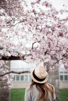 Woman in spring blossom by Gabriela Tulian on 500px