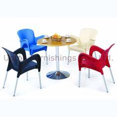 Modernen bunten outdoor plastikstuhl/Esszimmer Stuhl( sp- uc254)