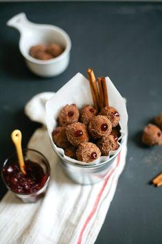 Mini Pumpkin Sufganiyot | 15 Hanukkah Desserts That Will Make You Verklempt