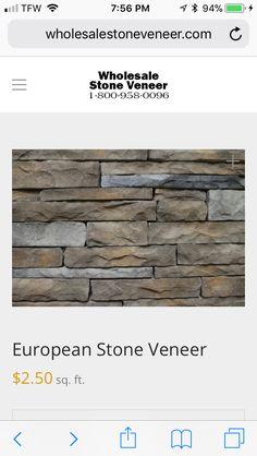 Stone Facade, Stone Veneer, Beach House, Bedroom Ideas, New Homes, Beach Homes, Stone Exterior, Stone Cladding, Dorm Ideas