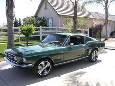 1967 Ford Mustang Fastback Maintenance/restoration of old/vintage vehicles: the material for new cogs/casters/gears/pads could be cast polyamide which I (Cast polyamide) can produce. My contact: tatjana.alic14@gmail.com