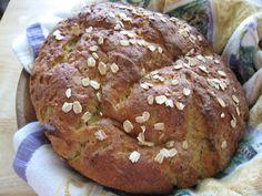 Finally, an oat flour based bread.  It also uses carbonated water.  Ginger Lemon Girl: Artisan Maple Oat Bread