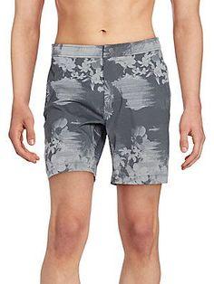 cd0fd5e13ec6c Onia Printed Swim Trunks - Eclipse - Size 3 Discount Designer, Swim Trunks,  Swimsuit