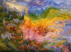 Gladness of Gaia. Josephine Wall