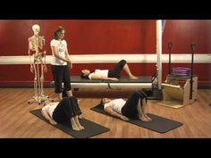 Upside-Down Pilates - Osteoporosis - Pilates Lesson 18 - Full Episode - HD - YouTube
