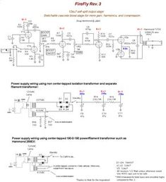 Schematic and first to do list