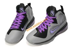 I just like this Nike Basketball Lebron 9 Shoes Miami Nights Cool Grey  Vivid Grey Black Cherry 469764 e4e643b00