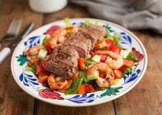 Biefstuk en garnalen ontmoeten elkaar in deze heerlijke surf 'n turf salade! Een overheerlijk combinatie die je zeker een keer geprobeerd moet hebben. Heerlijk op een zomerse zwoele avond als […]