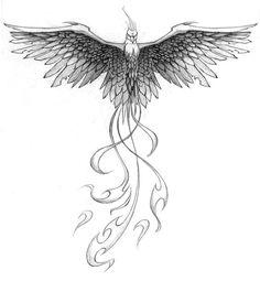 Pheonix Tattoo Design by *patrickbrown on deviantART
