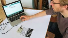 More information about how to use the Touch Board as a MIDI interface and stand alone instrument.