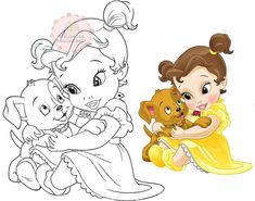Steve Thompson Disney, Baby Disney, Disney Princess, Disney Characters, Fictional Characters, Art, Molde, Little Girls, Tejido