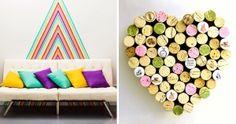 14Súper ideas para ladecoración deparedes