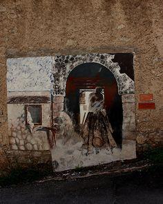 CIBIANA di CADORE ( il paese dei Murales )   #TuscanyAgriturismoGiratola