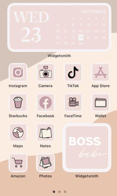 Iphone Home Screen Layout, Iphone App Layout, Iphone App Design, Iphone Novo, Cute Home Screens, Vanellope Y Ralph, Aesthetic Style, Pink Aesthetic, Iphone Wallpaper Ios