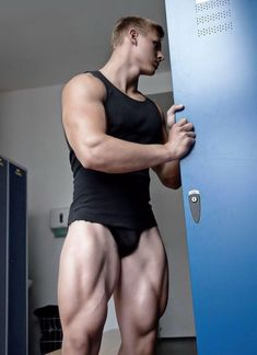 I love a guy with muscular legs