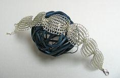 Wedding bracelet Bridal bracelet Wedding jewelry  Wire by KvinTal
